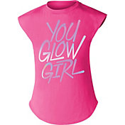 Nike Little Girls' You Glow Girl Graphic T-Shirt