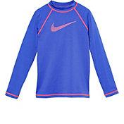 Nike Girls' Long Sleeve Hydro Top