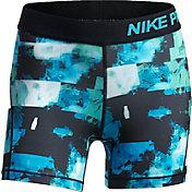 Nike Girls' Pro Printed Shorts