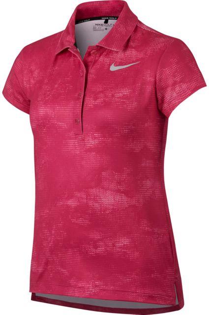 Nike Girls' Dry Printed Polo