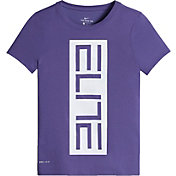 Nike Girls' Dry Elite Graphic Basketball T-Shirt