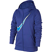Nike Girls' Therma Training Full-Zip Hoodie