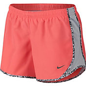 Nike Girls' Tempo Gravel Print Running Shorts