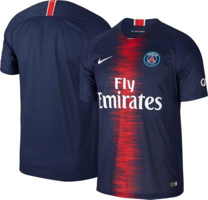 Nike Men s Paris Saint-Germain 2018 Breathe Stadium Home Replica Jersey.  noImageFound b58c14bf6ba0a