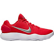 c2392c1aec6 Product Image · Nike Men s React Hyperdunk 2017 Low Basketball Shoes.  University Red Silver ...
