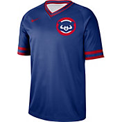 Nike Men's Chicago Cubs Cooperstown V-Neck Pullover Jersey
