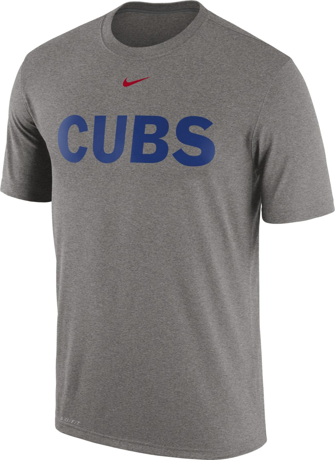 new arrival 0948d 0e46f Nike Men's Chicago Cubs Dri-FIT Legend T-Shirt