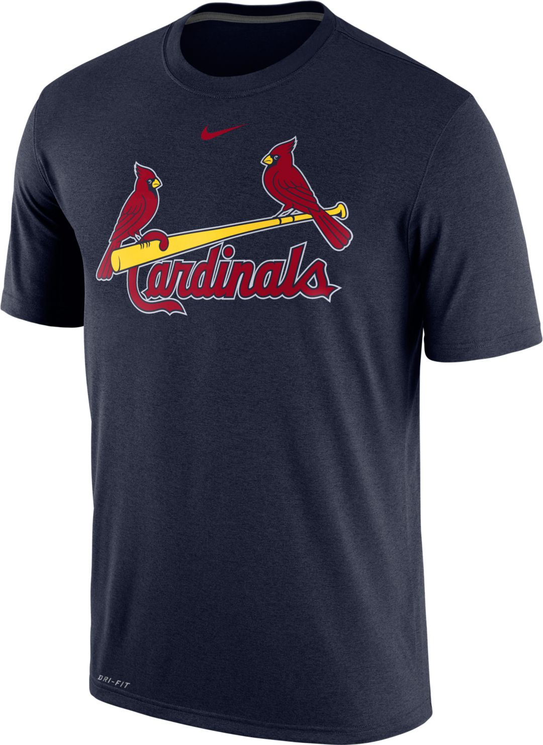 a0261e4ee Nike Men s St. Louis Cardinals Dri-FIT Legend T-Shirt 1