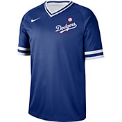 Nike Men's Los Angeles Dodgers Cooperstown V-Neck Pullover Jersey