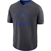 Nike Men's Los Angeles Dodgers Dri-FIT Flux V-Neck Shirt