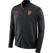 Nike Men's San Francisco Giants Dri-FIT Full-Zip Knit Jacket