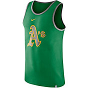 Nike Men's Oakland Athletics Wordmark Tank Top