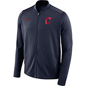 Nike Men's Cleveland Indians Dri-FIT Full-Zip Knit Jacket