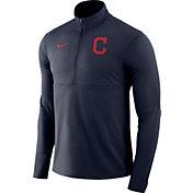 Nike Men's Cleveland Indians Dri-FIT Element Half-Zip Jacket