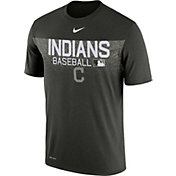 Nike Men's Cleveland Indians Dri-FIT Authentic Collection Memorial Day Legend T-Shirt