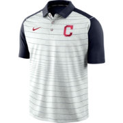 Nike Men's Cleveland Indians Striped Polo