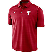 Nike Men's Philadelphia Phillies Striped Polo