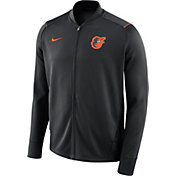 Nike Men's Baltimore Orioles Dri-FIT Full-Zip Knit Jacket