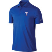 Nike Men's Texas Rangers Dri-FIT Royal Victory Solid Polo