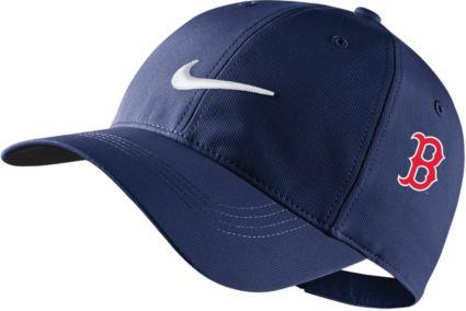 Nike Men s Boston Red Sox Dri-FIT Navy Legacy 91 Tech Golf ... 1ba660ca6b4