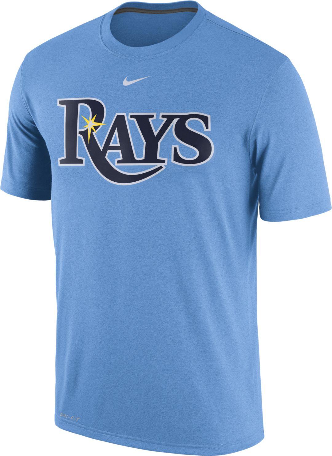 lowest price 344db 4d409 Nike Men's Tampa Bay Rays Dri-FIT Legend T-Shirt