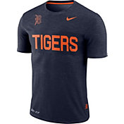 Nike Men's Detroit Tigers Dri-FIT Stripe Wordmark T-Shirt