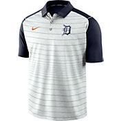 Nike Men's Detroit Tigers Striped Polo