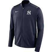 Nike Men's New York Yankees Dri-FIT Full-Zip Knit Jacket