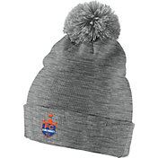 Nike Men's FC Cincinnati Crest Grey Pom Knit Beanie