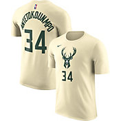 Nike Men's Milwaukee Bucks Giannis Antetokounmpo Dri-FIT City Edition T-Shirt