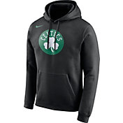 Nike Men's Boston Celtics Club Black Pullover Hoodie