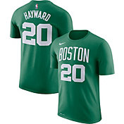 Nike Men's Boston Celtics Gordon Hayward #20 Dri-FIT Kelly Green T-Shirt