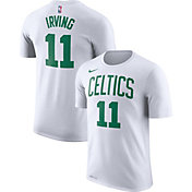 Nike Men's Boston Celtics Kyrie Irving #11 Dri-FIT White T-Shirt