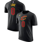 Nike Men's Cleveland Cavaliers Kevin Love #0 Dri-FIT Black T-Shirt