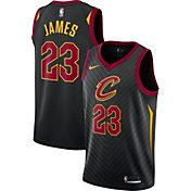 Nike Men's Cleveland Cavaliers LeBron James #23 Black Statement Dri-FIT Swingman Jersey