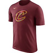 Nike Men's Cleveland Cavaliers Dri-FIT Burgundy Logo T-Shirt
