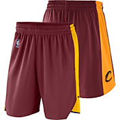Nike Men's Cleveland Cavaliers Dri-FIT Burgundy Practice Shorts