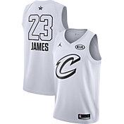 Jordan Men's 2018 NBA All-Star Game LeBron James White Dri-FIT Swingman Jersey