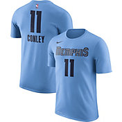 Nike Men's Memphis Grizzlies Mike Conley #11 Light Blue Dri-FIT T-Shirt