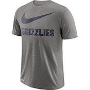Nike Men's Memphis Grizzlies Dri-FIT Legend Grey T-Shirt