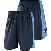 Nike Men's Memphis Grizzlies Dri-FIT Navy Practice Shorts