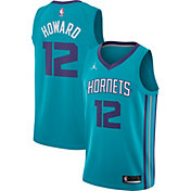 Jordan Men's Charlotte Hornets Dwight Howard #12 Teal Dri-FIT Swingman Jersey