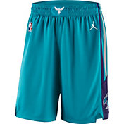 Jordan Men's Charlotte Hornets Dri-FIT Teal Swingman Shorts