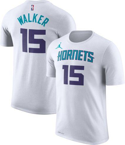 348042526 Jordan Men s Charlotte Hornets Kemba Walker  15 Dri-FIT White T-Shirt.  noImageFound