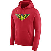 Nike Men's Atlanta Hawks Club Red Pullover Hoodie