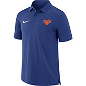 Nike Men's New York Knicks Dri-FIT Royal Core Polo
