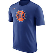 Nike Men's New York Knicks Dri-FIT Royal Logo T-Shirt