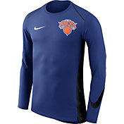 Nike Men's New York Knicks Dri-FIT Hyper Elite Royal Long Sleeve Shirt
