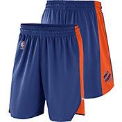 Nike Men's New York Knicks Dri-FIT Royal Practice Shorts