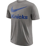 Nike Men's New York Knicks Dri-FIT Legend Grey T-Shirt